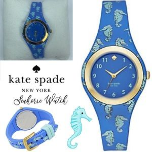 Kate Spade ♠️ Seahorse Rumsey Watch New in Box